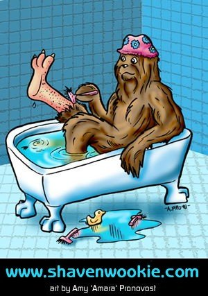 Shaven Wookie image